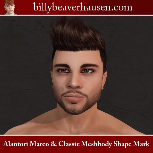 Alantori Marco & Classic Meshbody Shape Mark