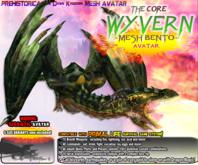 WYVERN AVATAR ~ Bento Dragon Mesh Avatar ~ Prehistorica: The Dawn Kingdoms