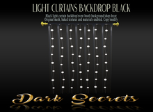 Dark Secrets - Light Curtains Black
