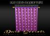 Dark Secrets - Light Curtains Purple