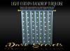 Dark secrets light curtain turquoise v