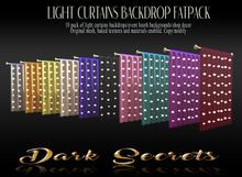 Dark Secrets Light Curtains Fatpack