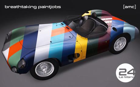 [amc] 24 Le Mans - car and rezzer