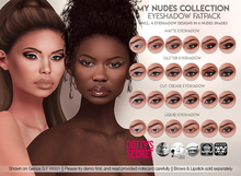 Dotty's Secret - My Nudes Collection - Eyeshadow [FATPACK]