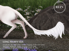 REIN - TWI Deer Long Fluffy Tail