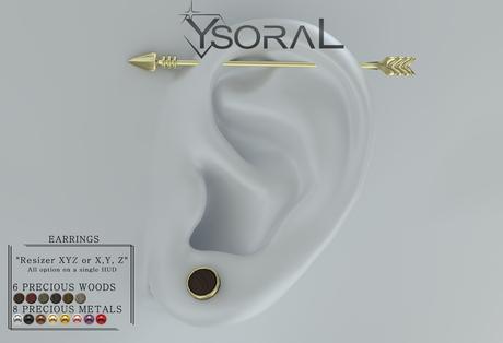 ~~ Ysoral ~~  .: 02 Luxe  Earrings Loann :.