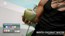 Tredente // Bento Coconut Water (Packed)