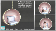 *CC* Kids Bubble Chair   [boxed]
