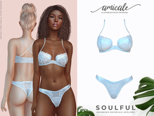 Soulful Lingerie ➔ SNOWY *materials   bom   rlv*