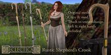 Eclectica- Rustic Shepherd's Crook