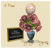 ~Mother's Day Dusty Roses Bouquet~