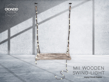 Crowded Room - MII Wooden Swing Chair - LIGHT (ADD ME)