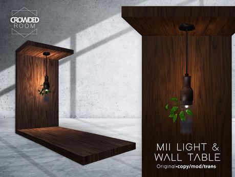 Crowded Room - MII Table & Light