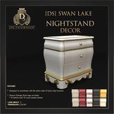 [Ds] SWAN LAKE Nightstand DECOR