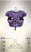 [sYs] INANA Tshirt & straps (body mesh) - claret & violet HUD
