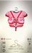 [sYs] INANA Tshirt & straps (body mesh) - red & blush HUD