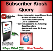 Subscriber Kiosk Query