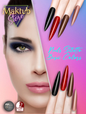 Maktub Store - Nails Basic Colors Stiletto Slink / Maitreya