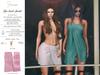 S&P Spa interative towel female rose (wear to unpack)