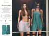 S&P Spa interative towel female aqua (wear to unpack)