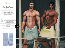 S&P Spa interative towel male sky (wear to unpack)