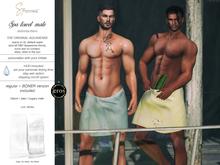 S&P Spa interative towel male white (wear to unpack)