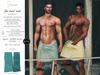 S&P Spa interative towel male aqua (wear to unpack)