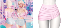 Rebelpill - Rebell Collection Skirt Baby Pink
