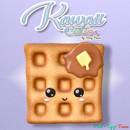 *[Kawaii Cuties]* - Sqaure Waffle Cutie - mascot- *Gift*