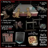 2. Kei's Aussie Boxing Gym Gacha (boxing game) RARE