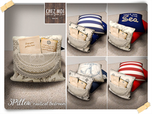 3Pillow Nautical ♥ CHEZ MOI