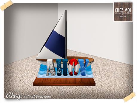 AHOUY Nautical ♥ CHEZ MOI