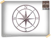 Compass Nautical Decor ♥ CHEZ MOI
