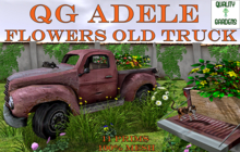 QG Adele Flowers Old Truck