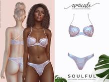 Soulful Lingerie ➔ BLUSH *materials   bom   rlv*