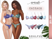 Soulful Lingerie ➔ FATPACK *materials   bom   rlv*