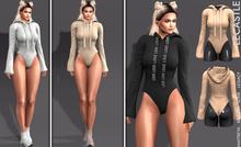 [LC] Velma Sport Bodysuit Hoodie
