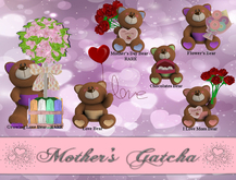 .:PD:. Mother's Gatcha - I Love Mom Bear