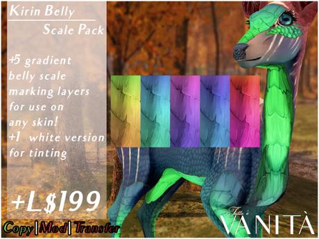 TWI Deer Kirin Belly Scale Markings
