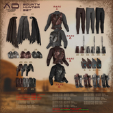 [AD] - Bounty Hunter - BOOTS - Gianni - Black