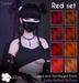 [^.^Ayashi^.^] Yukiko hair-Red set