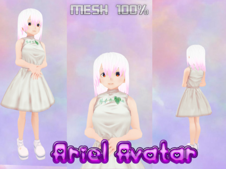 ARIEL AVATAR MESH COMPLETE