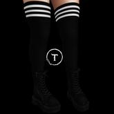MOoH! S&B Black/White stripes - Maitreya, Freya, Isis, Venus, Hourglass & Physique