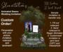 Slinvitations Custom Animated Swan Wedding Invitation