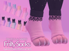 Berrybird - Frilly Socks [Pastels&Darks]
