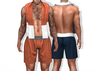 Towel and Swim Trunks Orion basic TwoSided