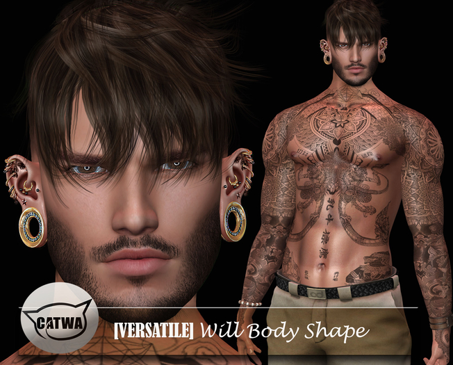 [Versatile] Will Body Shape [Daniel Catwa][Signature]