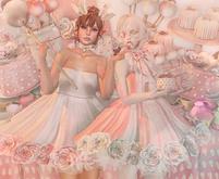 DISORDERLY&CURELESS / Petit Blooms / Mini Cake / Rose