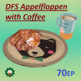 DFS Appelflappen With Coffee