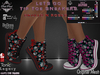 [PPD] Lets Go Tip Toe Sneakers Skulls n Roses